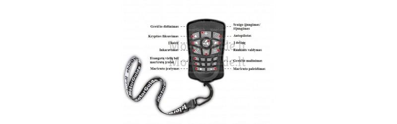 MotorGuide Pinpoint GPS pultelis